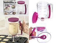 Диспенсер для жидкого теста Batter Dispenser для блинчиков форма кексов большой