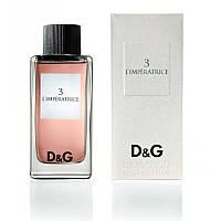 Женская туалетная вода Dolce & Gabbana 3 L`Imperatrice, 100 ml