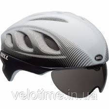 Шлем вел. Bell Star Pro Shield (55-59 см, белый-черный)
