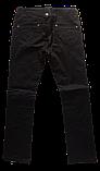 Женские джинсы Омат 9351 Стрейчевые чёрные, фото 2