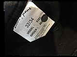 Женские джинсы Омат 9351 Стрейчевые чёрные, фото 4