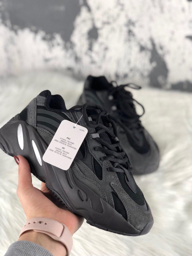 Мужские кроссовки Adidas X Kanye West Yeezy Boost 700 V2 Black Chocolate