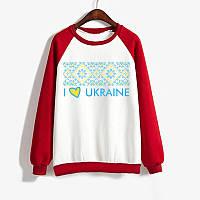 Джемпер I LOVE UKRAINE женский