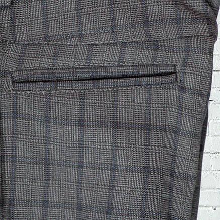 """Школьные брюки для мальчика """"Оксфорд"""" зауженные серые в клетку, фото 2"""