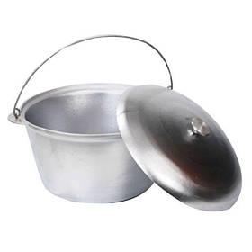 Казан походный алюминиевый с дужкой (от 1 до 70 литра )