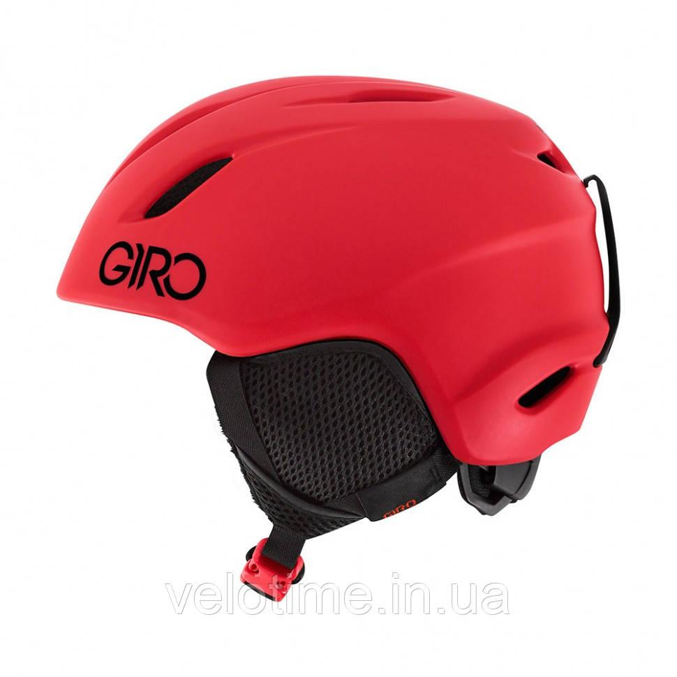 Шлем зим. Giro Launch детский (52-55,5 см, ярко-красный)