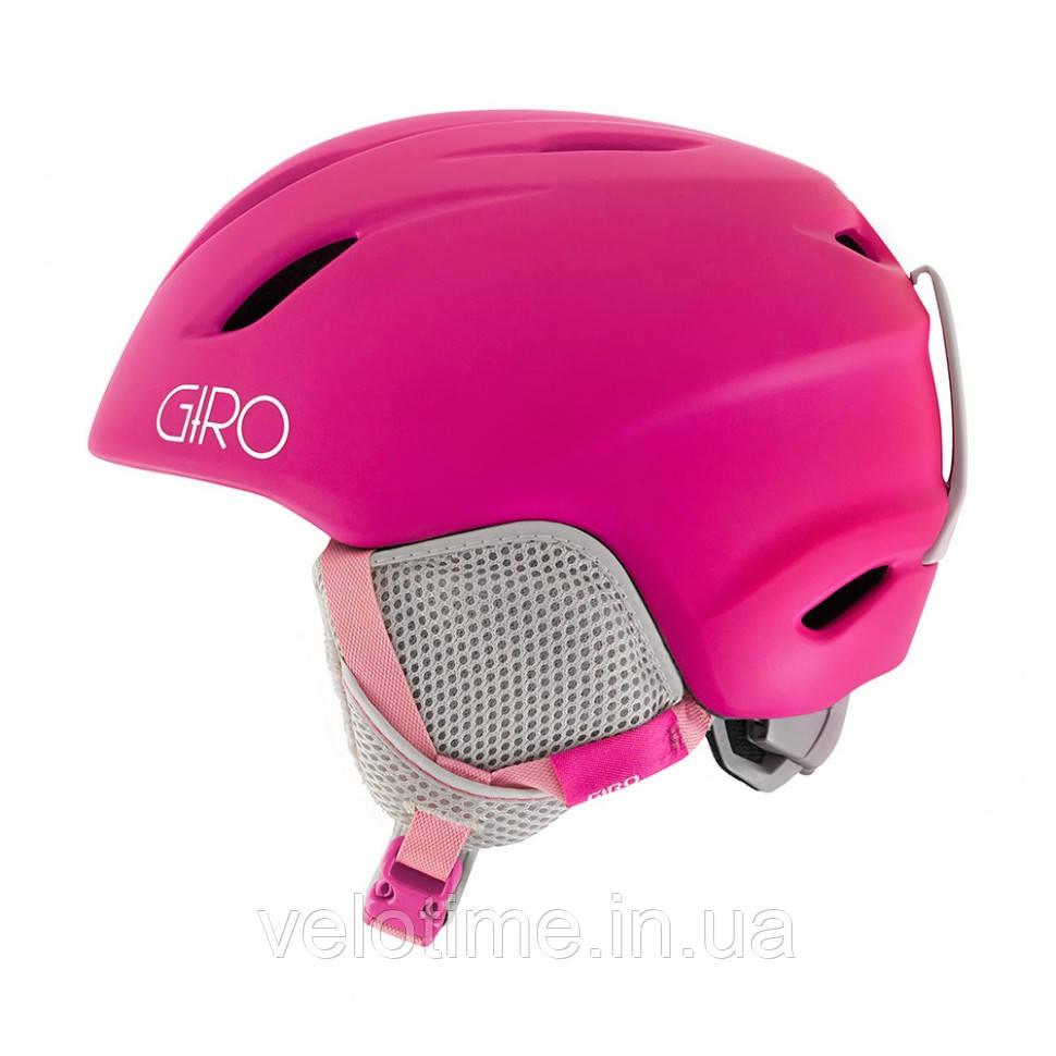 Шлем зим. Giro Launch детский (48,5-52 см, матовый  Magenta)