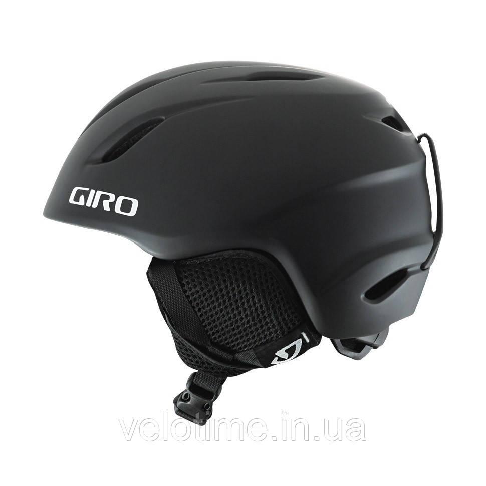 Шлем зим. Giro Launch детский (52-55,5 см, матовый черный)