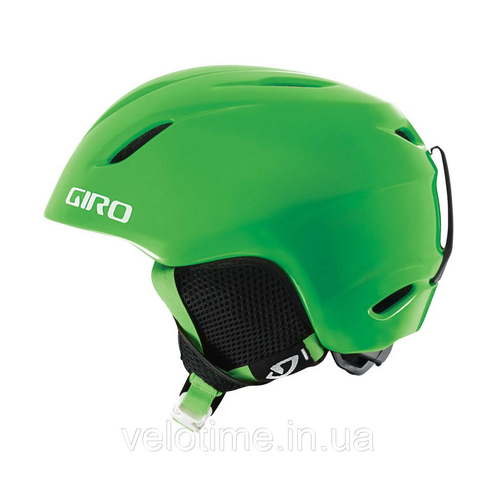 Шлем зим. Giro Launch детский (52-55,5 см, ярко-зеленый)