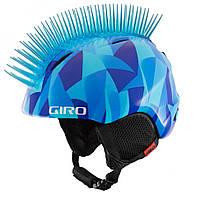 Шлем зим. Giro Launch Plus детский (48,5-52 см, голубой  Icehawk)