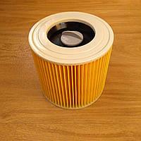 Патронный фильтр для пылесоса Karcher WD 2, WD 3, MV 2, MV 3, WD 2.200, SE 4001, NT 27/1, NT 38/1(6.414-552.0)