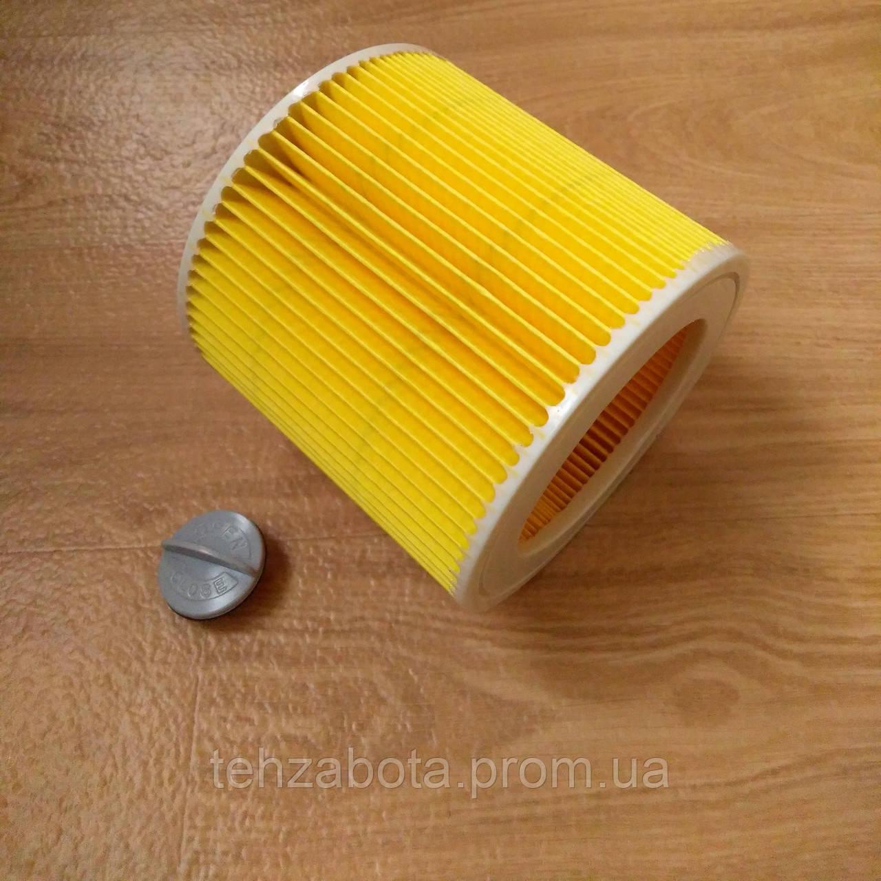 патронный фильтр для пылесоса Karcher Wd 2 Wd 3 Mv 2 Mv 3 Wd 2 200 Se 4001 Nt 27 1 Nt 38 1 6 414 552 0 Bigl Ua