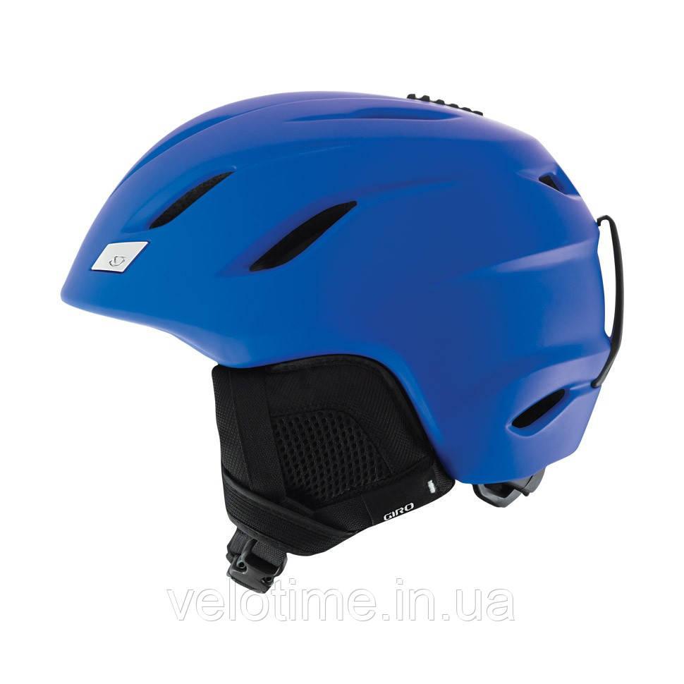 Шолом зим. Giro Nine (55,5-59 см, синій матовий)