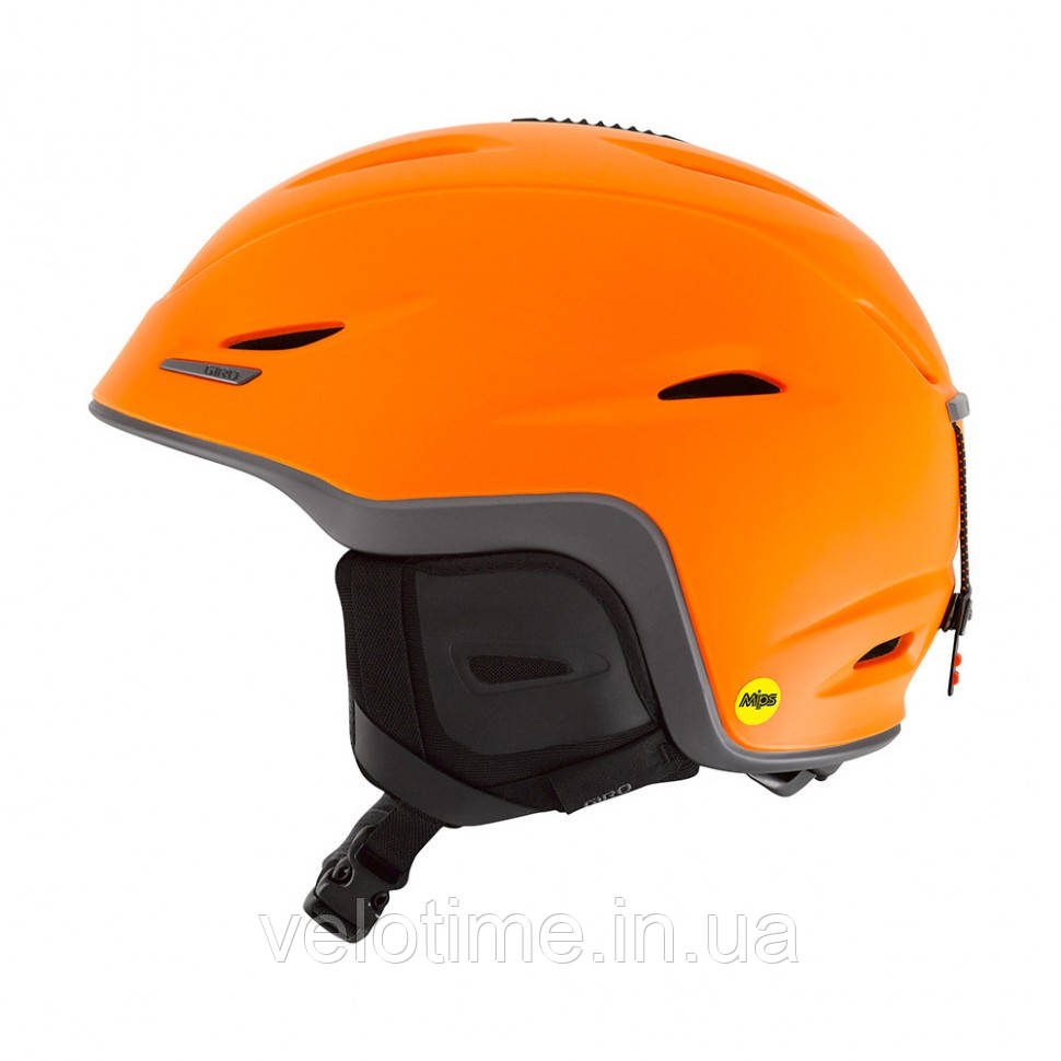 Шлем зим. Giro Union Mips (55,5-59 см, матовый оранжевый-титан)