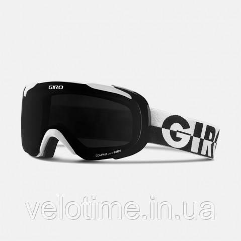 Маска зим. Giro Compass (черный-белый 50/50, Black Limo)