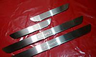 Хром накладки на пороги для Kia Ceed, Киа Сид 2006+