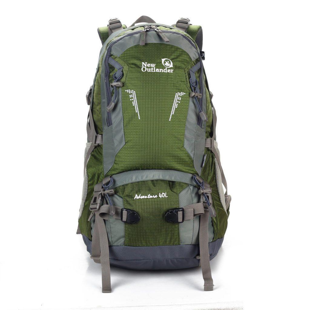Туристический рюкзак New Outlander 40 литров /для похода -зеленый(AV 1203)