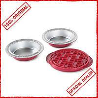 Набор форм для выпекания пирогов с крышкой NORDIC WARE Mini Pie 42315