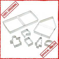 Набор формочек для печенья Kitchen Craft Имбирный домик 474018