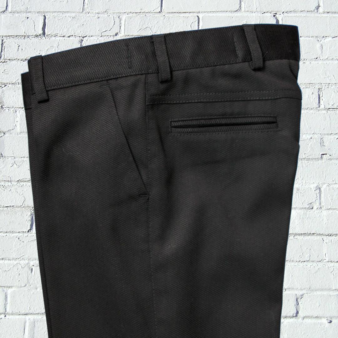 """Черные брюки для мальчика 122-176 рост """"Бруклин"""" зауженные"""