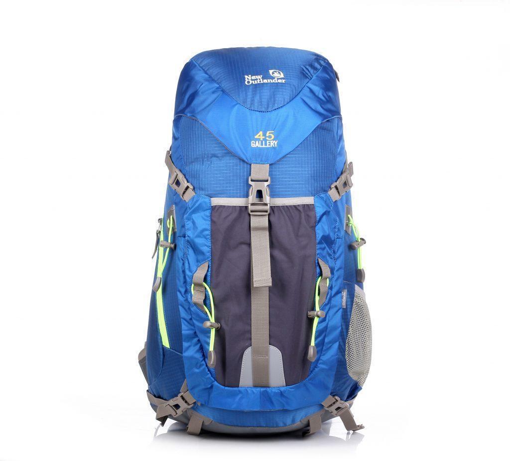 Рюкзак туристический на 45 литров New Outlander для ручной клади-синий(AV 1206)