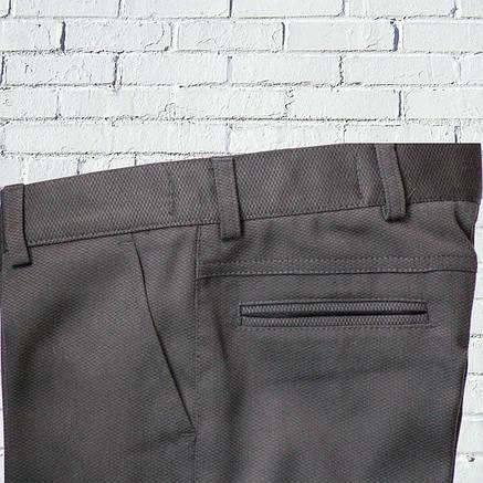 """Черные брюки для мальчика 122-176 рост """"Бруклин"""" зауженные, фото 2"""