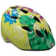 Шлем вел. Bell Tater  (46-50 см, желтый-зеленый дракон)