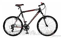 """горный велосипед Comanche Niagara Fs (22"""", черный-красный-серебристый)"""