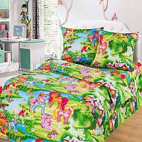 """Комплект постельного белья """"Волшебные сны (Литл Пони)"""" в кроватку"""