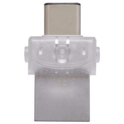 USB накопитель Kingston 64GB DataTraveler DTDUO3C/64GB .