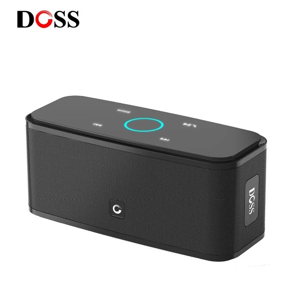 Портативна колонка Doss SoundBox touch 12 Вт Блютуз акустика, колонка, акустика Tronsmart, JBL, Sony, Harman