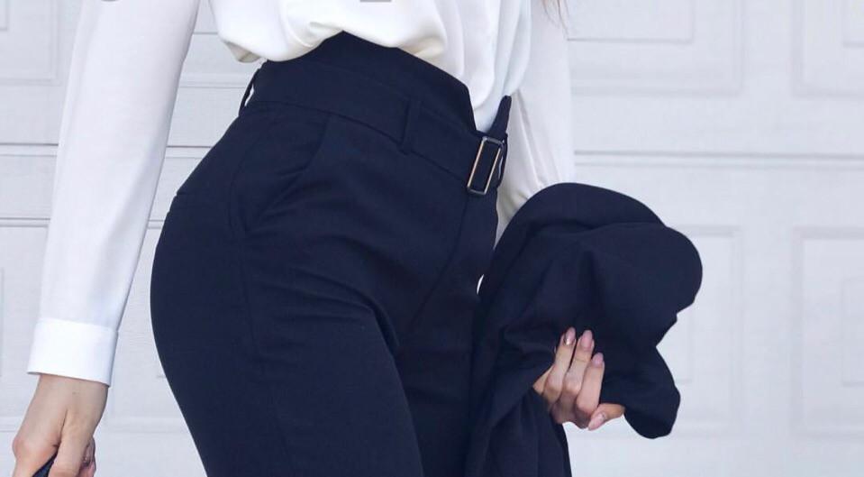 Штаны с железной бляхой