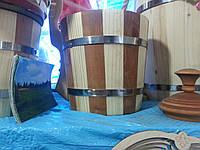 Ведро деревянное маленькое
