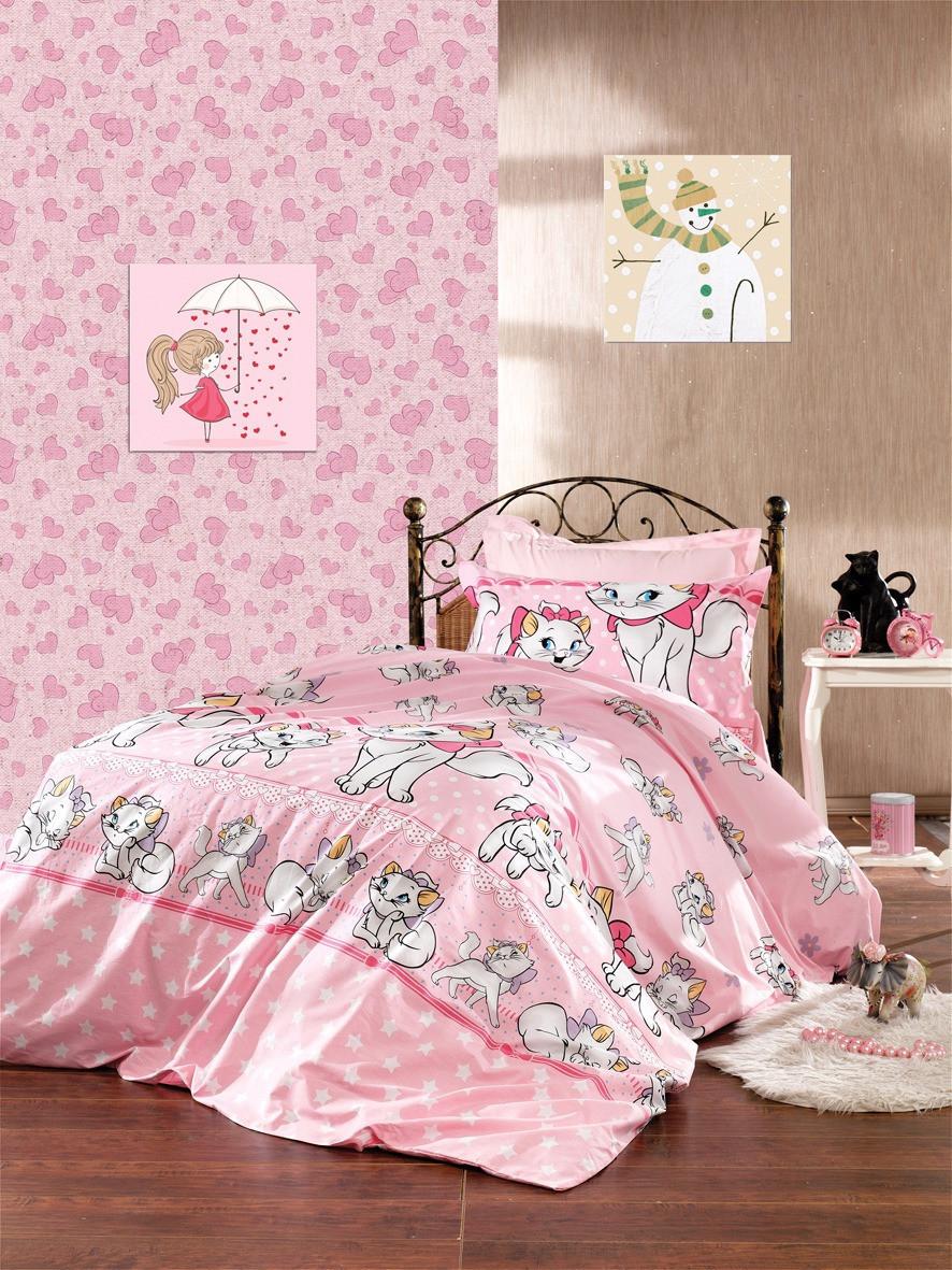 """Комплект постельного белья """"Кошечка Мэри , ранфорс Lux"""""""