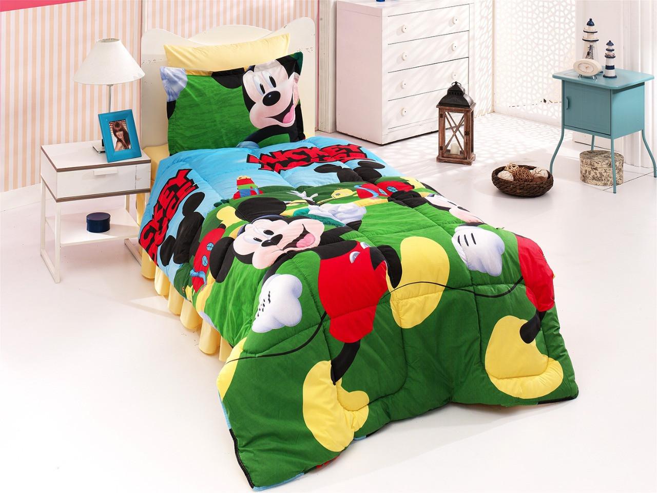 """Комплект постельного белья """"Микки Масу 3Д , ранфорс Lux"""""""