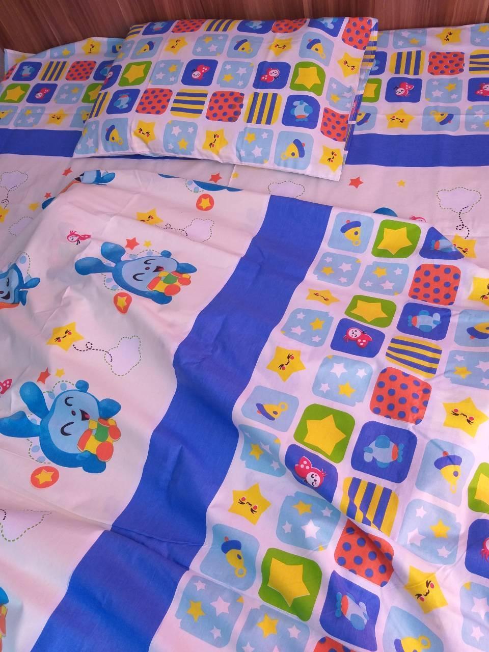 """Комплект постельного белья """"Малышарики - Смешарики , ранфорс Lux"""""""
