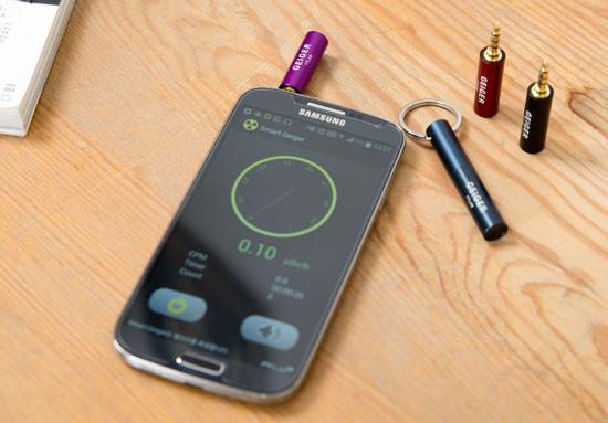 Дозиметр радиации для смартфона и его особенности