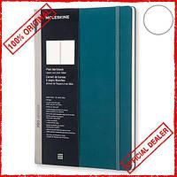 Блокнот Moleskine Workbook A4 нелинованный шалфей PROWB53HK7