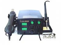 Паяльная станция Lukey 898 – легкая, компактная и надежная с феном-турбиной: паяльное оборудование для профессионалов Часть 1