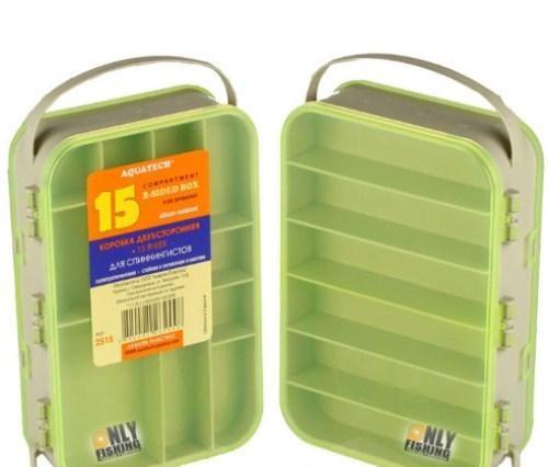 Коробка Aquatech 2515 коробка двухсторонняя 15 ячеек 2515