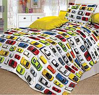 Комплект постельного белья (поплин) Модельки,  в кроватку