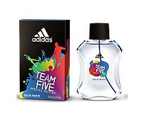 Adidas Team Five туалетная вода мужская 100 ml
