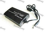 Унив. зарядное устройство ноутбука 2в1 сеть + авто, 10 насадок