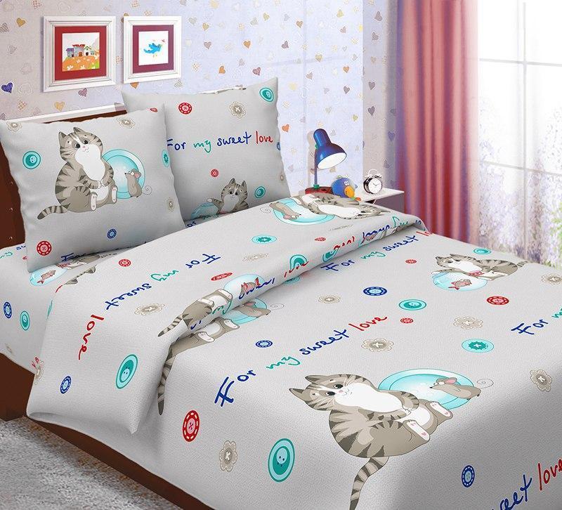 Комплект постельного белья (бязь) Коржик, подростковый