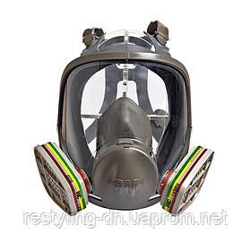 3M™ 6800 Полная маска серии 6000 М