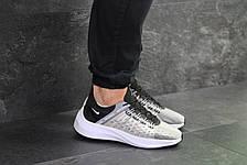 Мужские летние кроссовки Nike EXP-X14,текстильные,серые с черным, фото 3