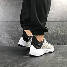 Чоловічі літні кросівки Nike EXP-X14,текстильні,сірі з чорним, фото 3