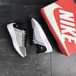 Мужские летние кроссовки Nike EXP-X14,текстильные,серые с черным, фото 2