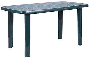 Стол Sorrento / Соренто 140x80 пластик зеленый ТМ AMF