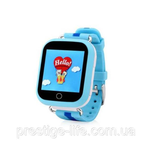 Смарт-часы сGPS, Wi-Fi, Smart Baby Watch Q100 Голубые